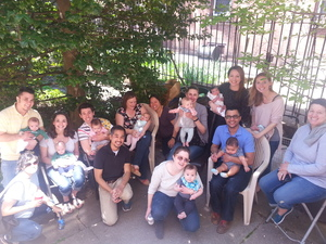 new and expectant potluck